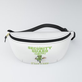 Security Guard Ninja By Night Watchman Watcher Spotter Sentinel Lookout Scout Patroller Gift Fanny Pack