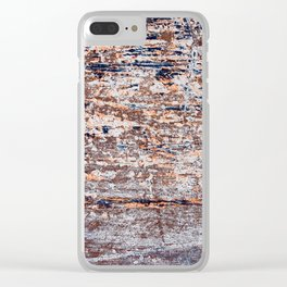 Old Boat Blue Clear iPhone Case
