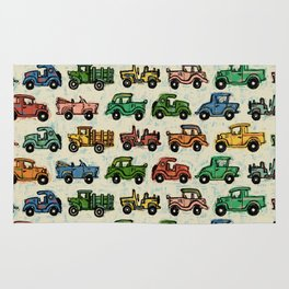 Cars and Trucks Rug