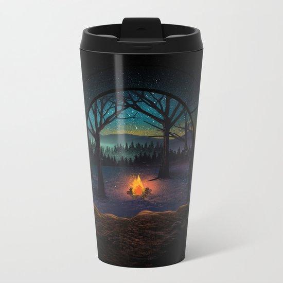 Bonfire Metal Travel Mug