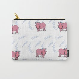 The Warthogs Wore Pink Carry-All Pouch