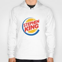 stephen king Hoodies featuring Stephen King by Alejo Malia