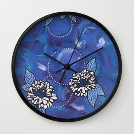 Triptych-2 Wall Clock