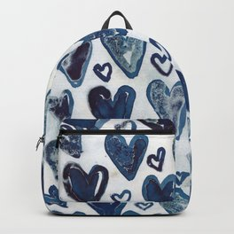 Hearts aplenty. Backpack