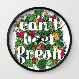 Can't Beet Fresh Wall Clock