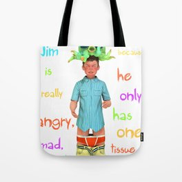 Angryocto - Jim's Lasthope Tote Bag