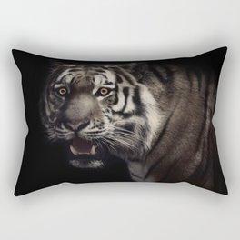 Hypnotized tiger Rectangular Pillow