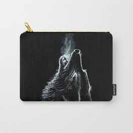 The wolf Carry-All Pouch