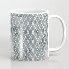 Smoke Trellis Pattern Coffee Mug