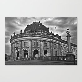 Bode-Museum on the Museum Island of Berlin Canvas Print