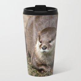 Sunning Otter Travel Mug