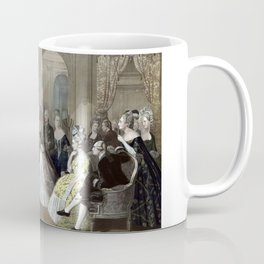 Franklin's Reception At The Court Of France Coffee Mug