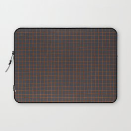 Grey and Rust Thread Pattern Laptop Sleeve