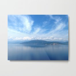 Blue in Nafplio Metal Print