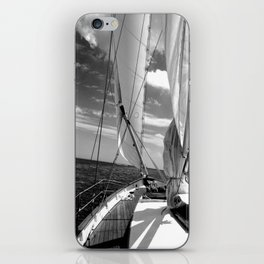 Details on Sailboat iPhone Skin