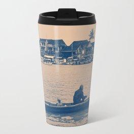 Sailing down the river Travel Mug