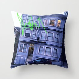 Dazer Throw Pillow