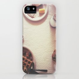 Continental Breakfast iPhone Case