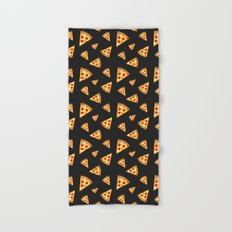 Cool and fun pizza slices pattern Hand & Bath Towel