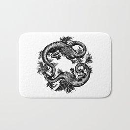 Salamander and Dragon Bath Mat