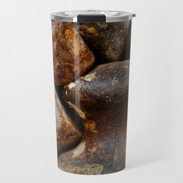 Very old and rusty weights for scales Travel Mug
