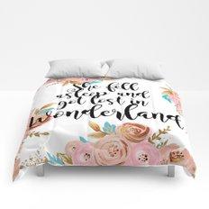 Lost in Wonderland Comforters