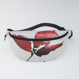 Floral Abstract No.2c by Kathy Morton Stanion Fanny Pack