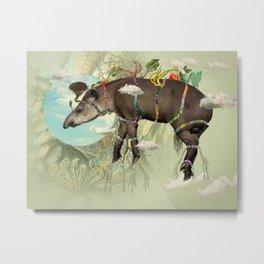 Tapir Metal Print