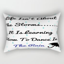 Quote About Life Rectangular Pillow