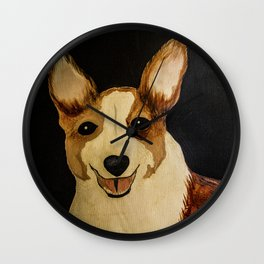 The Winston - Corgie Wall Clock