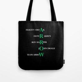 team arrow Tote Bag