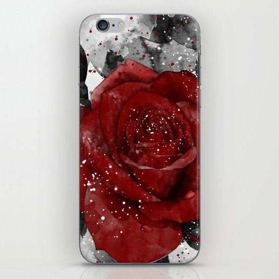 Crimson iPhone & iPod Skin