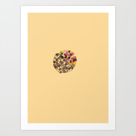 Parallel Pigmentation Art Print