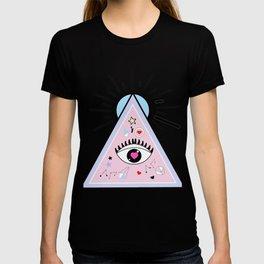 eye pattern T-shirt
