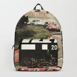 Le Mans poster, 1964, 24hs Le Mans, original vintage poster Backpack