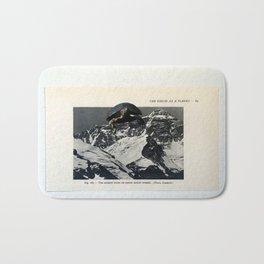 Turtle #10 (Mount Everest) [Cecilia Lee] Bath Mat