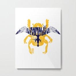 Animale Evolution Metal Print