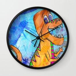 Dinosaur Wall Clock