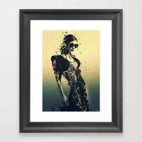 Beauty Echoes Framed Art Print