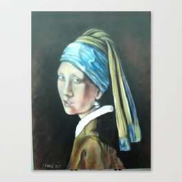 Girl with a Pearl Earring  Canvas Print
