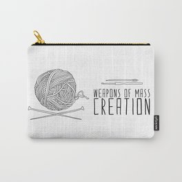 Weapons Of Mass Creation - Knitting Carry-All Pouch