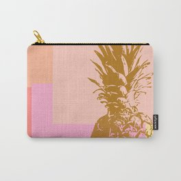Pineapple and Geometry Carry-All Pouch