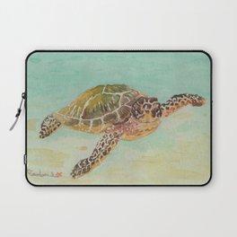Sea Turtle Watercolor Laptop Sleeve