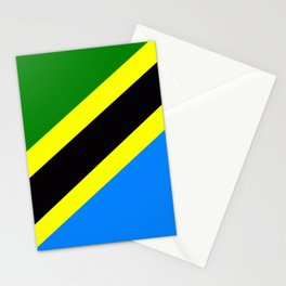 Flag of Tanzania Stationery Cards
