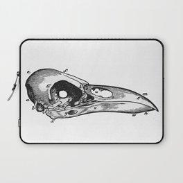 Crow skull Laptop Sleeve