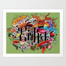 ERIKA Art Print