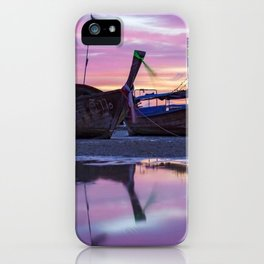Mysterious Long Tail Boats  iPhone Case