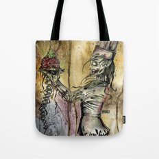Zombie Pastry Chef Tote Bag