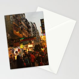 Night in Hong Kong Stationery Cards