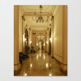 HOTEL BOLIVAR Canvas Print